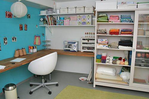 Fashion poor decora o de atelier de costura - Trabajos en casa manualidades ...