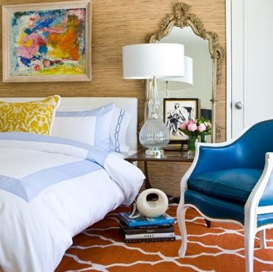 Dark Blue Rooms Decorating Ideas
