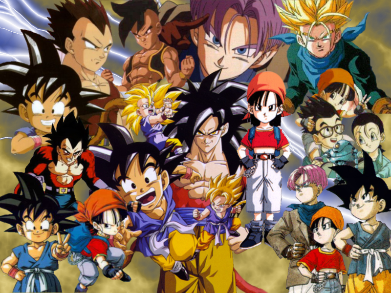 dragon ball gt goten. dragon ball gt wallpapers