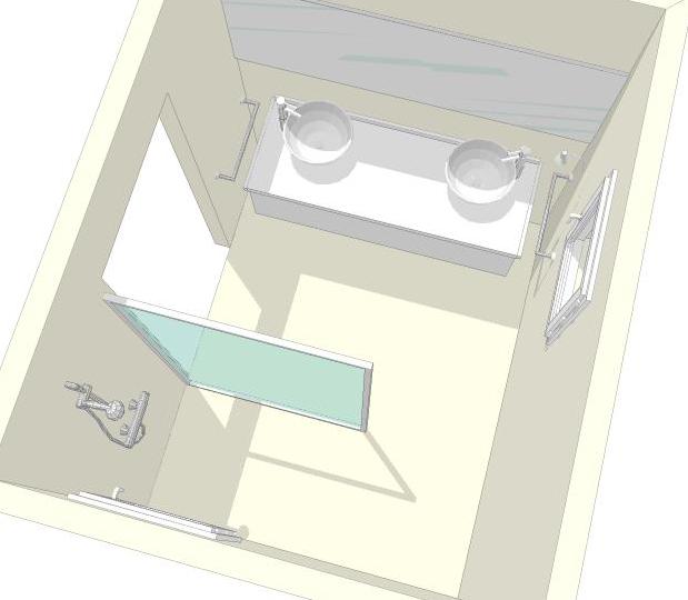 construction en guadeloupe mod lisation salle de bain parentale. Black Bedroom Furniture Sets. Home Design Ideas