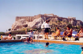 Athens Electra Palace Hotel Roof Top Pool