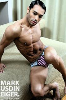 Markus Dineiger Underwear photographed by Alberto Bruni