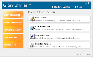 Portable Glary Utilities PRO 2.5.2.185