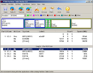 PTDD Partition Table Doctor 3.5 Portable