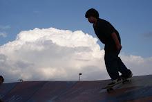 Zane skateboarding