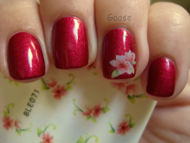 Gooses Glitter Viva La Nails Water Decals And Stickers Review