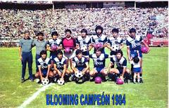 BLOOMING EL CAMPEÓN  DE SIEMPRE