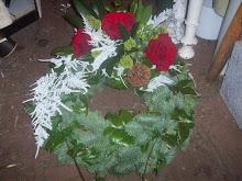 Liten begravningskrans