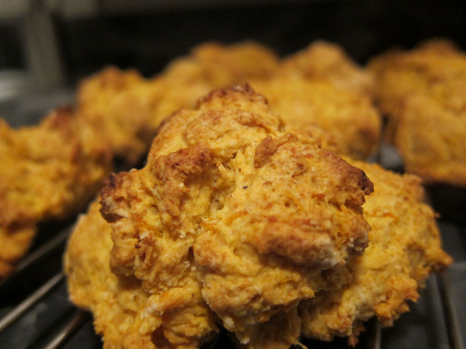 Everything Tasty: Sweet Potato Drop Biscuits