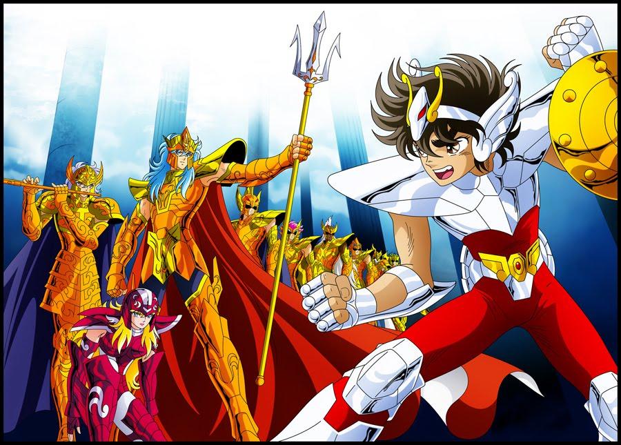 [Anime do Mês] - Os Cavaleiros do Zodíaco 02-Marinas-Seiya