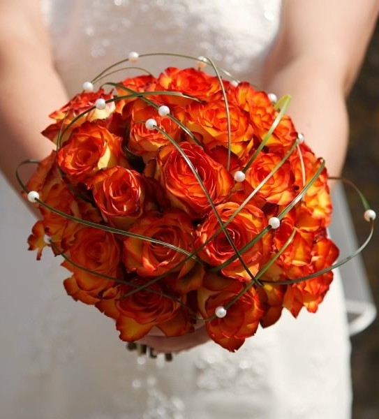 Fall wedding flowers sparkling events designs for Wedding bouquets for autumn