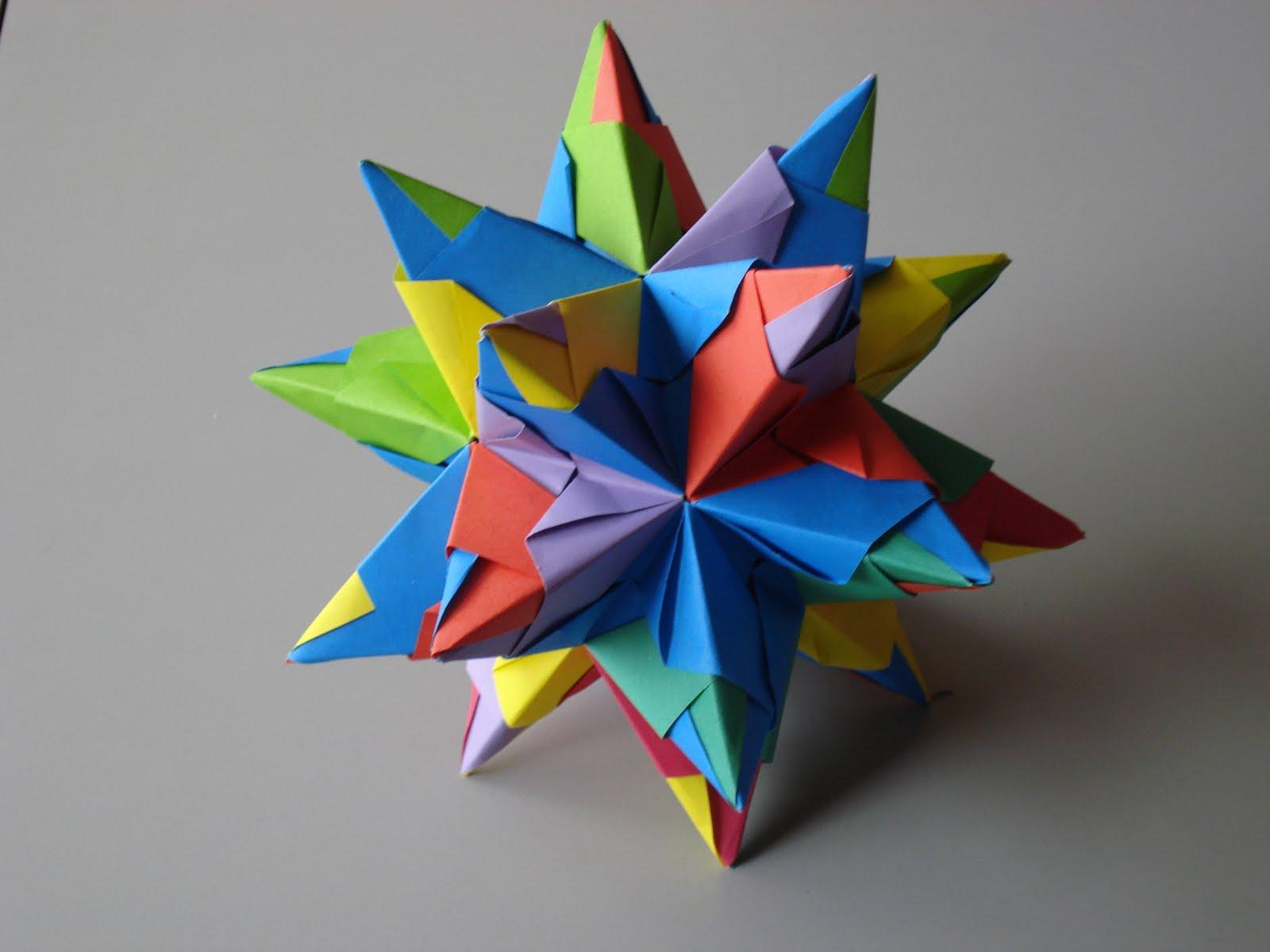 Origamijwm - Origami de una estrella ...