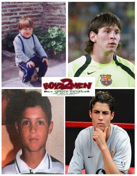 Cristiano Ronaldo Vs Lionel Messi 2011