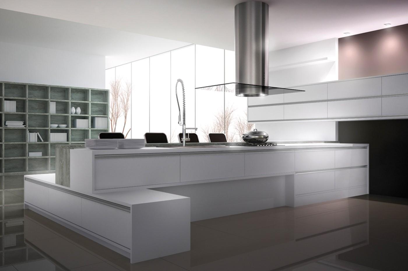 Cozinha em Laudas: Cozinhas Modernas [Modern kitchens] #715A5A 1400 930