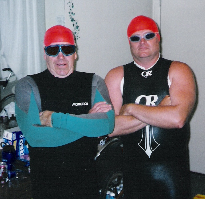 By the way this is my dad and my husband. I'm a lucky gal aren't I?