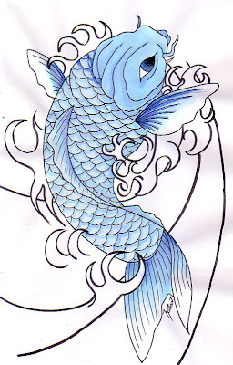 Koi Fish Tattoo Ideas