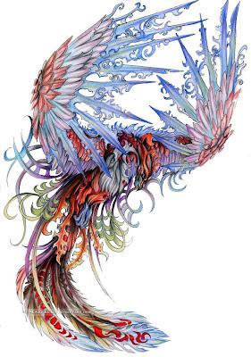 Phoenix Japanese Tattoo Style