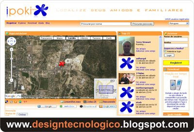 rede social GPS