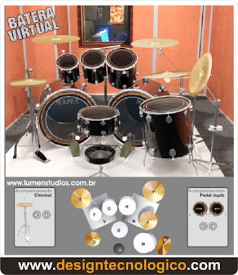 bateria virtual online