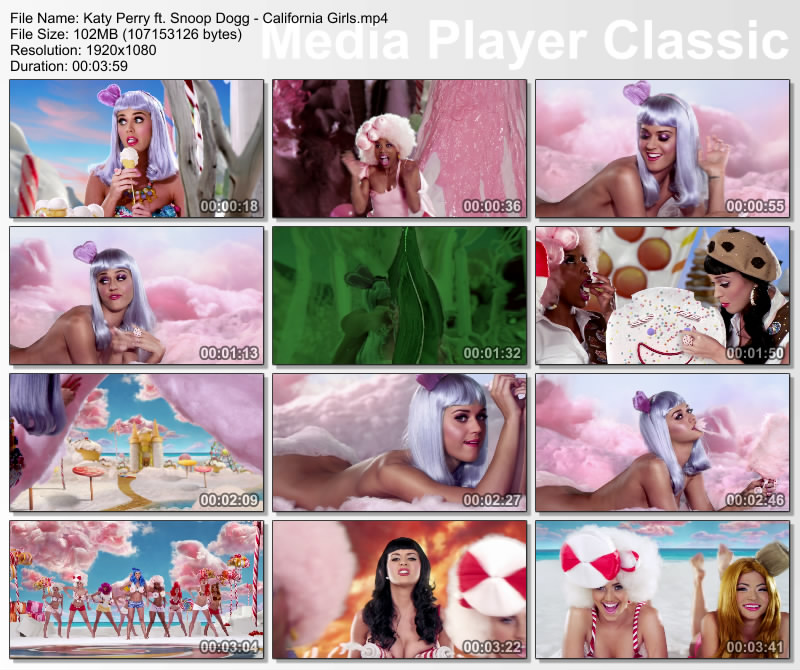 Katy Perry ft. Snoop Dogg - California Girls HD 1080p