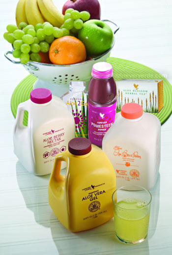 ALOE VERA GEL / ALOE BERRY NECTAR / ALOR BITS N' PEACHES