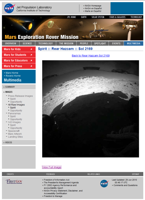 Mars UFO Base Photographed By Mars Rover Sprint ?