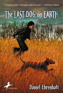 Book Cover of The Last Dog on Earth by Daniel Ehrenhaft