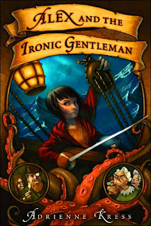 Book Cover of Alex and the Ironic Gentleman by Adrienne Kress
