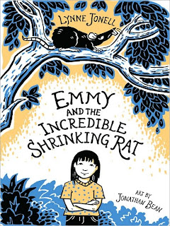 Book Cover of Emmy and the Incredible Shrinking Rat by Lynne Jonell