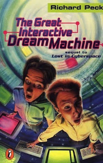 Book Cover of The Great Interactive Dream Machine by Richard Peck
