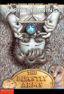 Book Cover of The Beastly Arms by Patrick Jennings