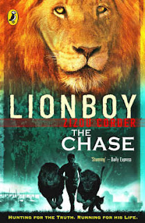 Cover of Lionboy – The Chase by Zizou Corder
