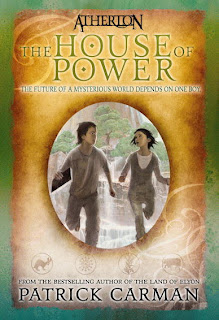 Book Cover Art for Atherton - The House of Power by Patrick Carman