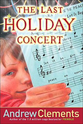 Book Cover Art for The Last Holiday Concert by Andrew Clements
