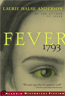 Book Cover Art for Fever 1793 by Laurie Halse Anderson