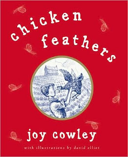 Book Cover Art for Chicken Feathers by Joy Cowley