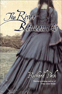 Book Cover Art for The River Between Us by Richard Peck