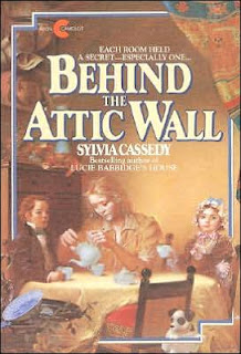 Book Cover Art for Behind the Attic Wall by Sylvia Cassedy
