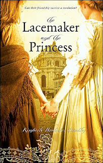 Book Cover Art for The Lacemaker and the Princess by Kimberly Brubaker Bradley