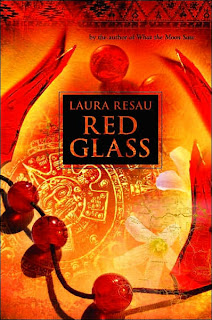 Book Cover Art for Red Glass by Laura Resau