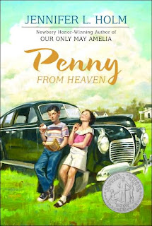 Book Cover Art for Penny from Heaven by Jennifer L. Holm