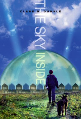 Book Cover Art for The Sky Inside by Clare B. Dunkle