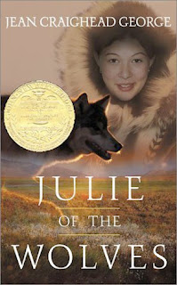Book Cover Art for Julie of the Wolves by Jean Craighead George