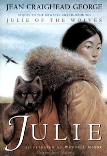 Book Cover Art for Julie by Jean Craighead George