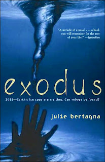 Book Cover Art for Exodus by Julie Bertagna