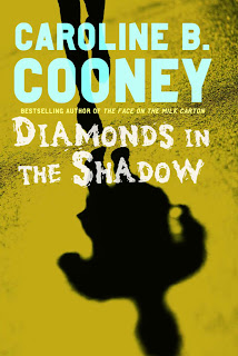 Book Cover Art for Diamonds in the Shadow by Caroline B. Cooney