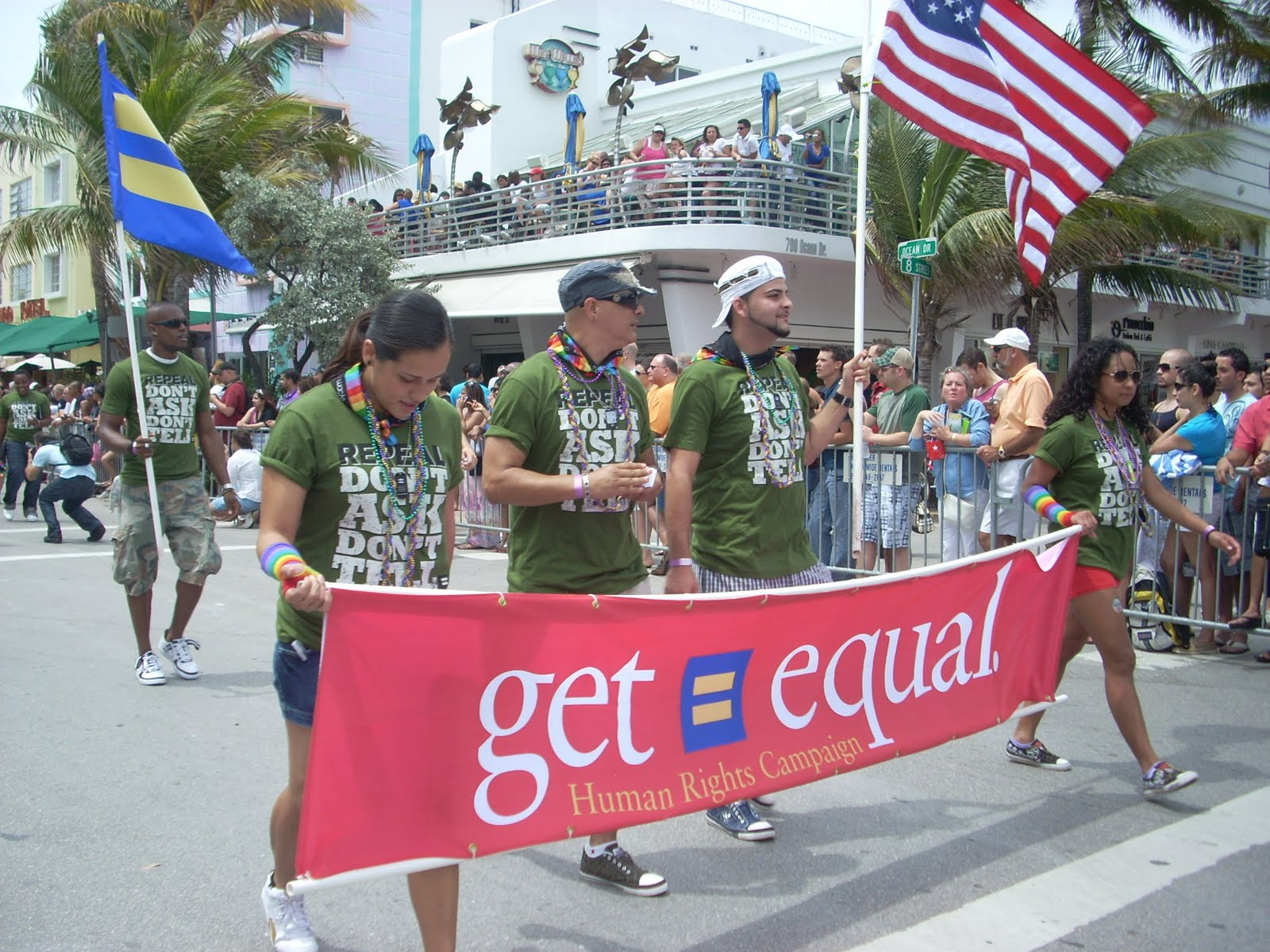 Gay pride parade south beach