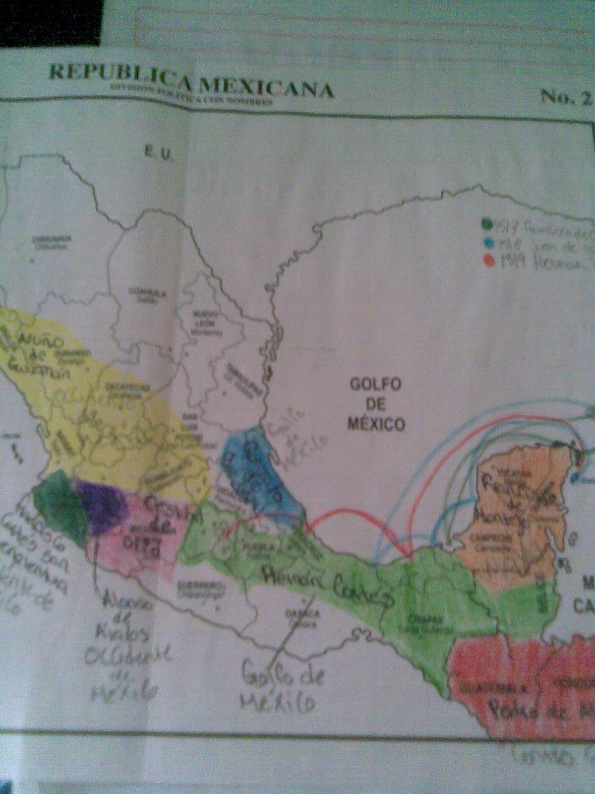 Edgar gonzalez primeras expediciones for Villas que fundo nuno beltran de guzman en el occidente de mexico