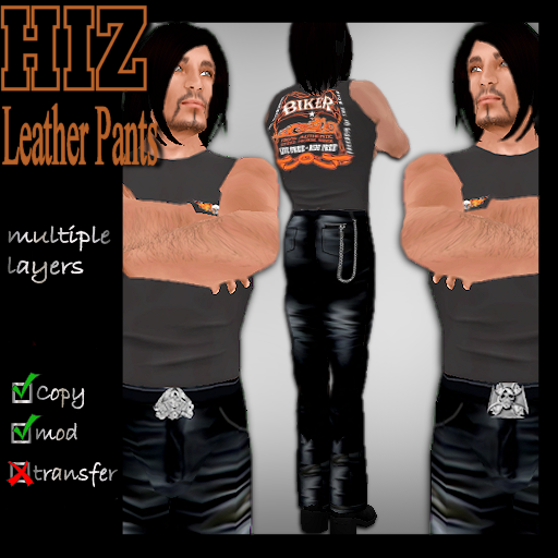 HIZ Leather Pants