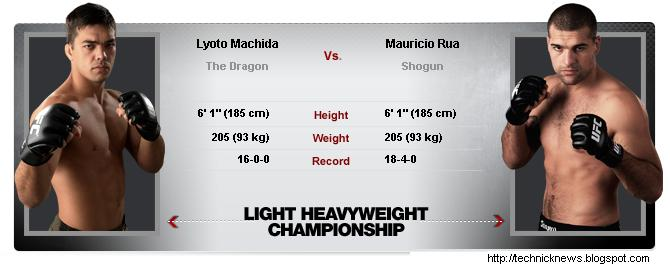 ufc 113, ufc113, Machida vs. Shogun UFC 113